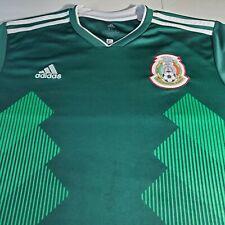 Adidas Mexico Home Soccer Football Jersey Xl World Cup 2018 *Read Description*