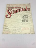 1922 GEORGE GERSHWIN 4th Annual George White's Scandal's STAIRWAY TO PARADISE