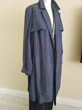 Chambray Style Summer Trench Coat size 22