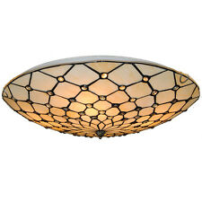 Classic Tiffany Ceiling Lamp Stained Glass Handmade Hanging Light Fixtures CL278