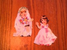Vintage Doll - 2 - Iron-On Appliques..So Cute!!