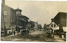 RPPC NY Sackets Harbor Lower Main St 1910 Jefferson County