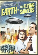 Earth VS The Flying Saucers 0043396226197 With Hugh Marlowe DVD Region 1