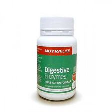 NUTRA LIFE - DIGESTIVE ENZYMES 60C - TRIPLE ACTION FORMULA  NUTRALIFE
