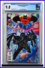 Superman Batman #59 CGC Graded 9.8 DC June 2009 White Pages Comic Book