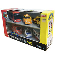 Little Bus TAYO Friends Special 6 pcs Mini car - Citu Alice Nuri Pat Toto Frank