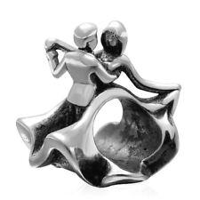 Last Waltz Dancing Couple Charm Bead 925 Sterling Silver
