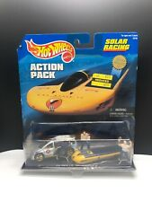 HOT WHEELS ACTION PACK 1998 SOLAR RACING CAL STATE L.A. SOLAR EAGLE III CARAVAN