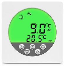 Digital Thermostat Raumthermostat Fußbodenheizung Wandheizung LED grün      #a35