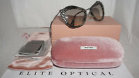 MIU MIU Sunglasses New Marble White Black Grey MU04QS DHE3H2 55 140