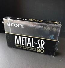 Sony Metal SR 90 Cassette Tape Brand New Sealed Type IV Metal