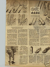1947 PAPER AD Motor Outboard Boat Elgin Twin Single Golf Clubs Johnny Bulla Ball