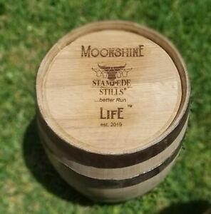 5 Gallon Rugged Hoop 20 Liter BOURBON Whiskey Wine Moonshine American Oak BARREL