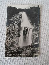 "OLD RP POSTCARD ""BOWEN FALLS, MILFORD SOUND NEW ZEALAND "" ."