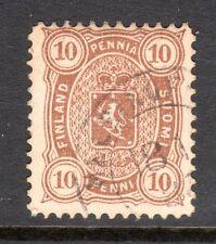 Finland - 1875 Def. Coat of Arms Mi. 15Byb FU (Perf. 12,5)  b