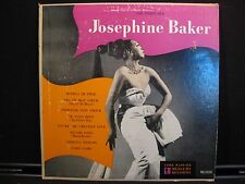 "The Inimitable Josephine Baker Mercury MG 25105 10"" lp"