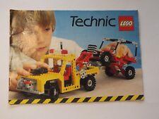 LEGO prospetto catalog 1982 MEDIUM Technic European 115382 1154 82 catalogo tecnica