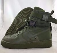 Nike SF AF1 Special Field Air Force 1 Olive Green Rare Sample 864024-300 Mens 9