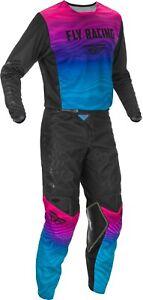 Fly Racing Kinetic K221 Jersey & Pant Combo Set MX Riding Gear ATV Motocross '21
