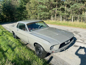 1967 Ford Mustang Brand Spanking New Destroyer Grey 289 V8 Willwood Discs
