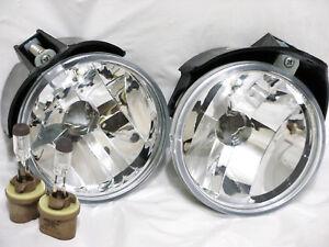 For 01-06 Sering Stratus Sedan Fog Light Lamp RL H One Pair W/2 Bulbs NEW