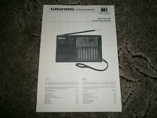 Grundig Yacht Boy 230 Shortwave Receiver Service Manual