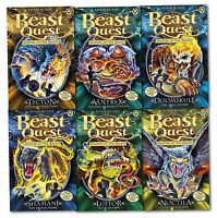 Beast Quest Series 10 Master of The Beasts 6 Books Collection Set (Books 55-60)