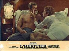 JEAN-PAUL BELMONDO CARLA GRAVINA L'HERITIER 1972 PHOTO ANCIENNE N°2