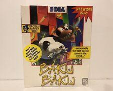 Video Game PC Baku Baku by Sega New Sealed Big Box