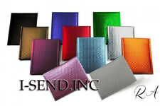 4x8 000 Matte Metallic Poly Bubble Mailers Mailing Padded Envelopes