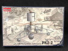 Roden PKZ-2 Hungarian Helicopter 1:72 Scale Plastic Model Kit 008 New in Box