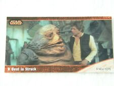 #12  A New Hope Star Wars Trilogy Topps Widevision Tradingcard (Not a sticker)