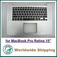 """A1398 MacBook 15"""" Retina Top Case C Case US Keyboard w/ Backlight for 2012-2013"""