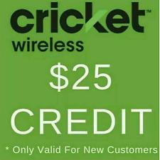 *FREE* Cricket Wireless Referral Code for $25 Account Credit (Read Description)