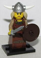 LEGO NEW SERIES 7 VIKING WOMAN MINIFIGURE 8831 FIGURE