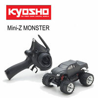 Kyosho Mini-Z Monster Ex Madforce Noir Mat - 2WD - Ensemble Prêt à L'Usage