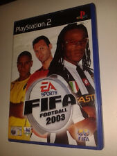 * Sony Playstation 2 Game * FIFA FOOTBALL 2003 * PS2