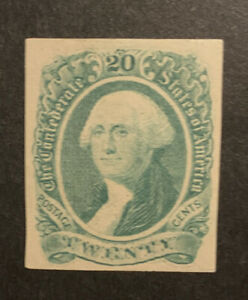 TDStamps: US Confederate States CSA Stamps Scott#13 Unused NG Tiny Thin