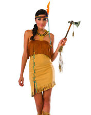 SEXY Indian Maiden Adult Womens Native American Costume- SIZE LARGE- 19715