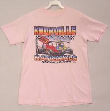 Vintage Knoxvile Nationals '84 Sprint Car Racing T Shirt.  Medium.  Good Conditi