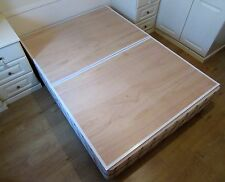 DOUBLE BED BOARDS DIVAN/SLATS  MATTRESS SUPPORT 9 mm PLYWOOD Sagging Collapsed