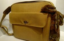 Vintage Samonite ROYAL TRAVELLER MEDALIST OVERNIGHT/CARRY-ON/GYM BAG Gold/Yellow