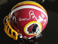 SAMMY BAUGH Personally Signed NFL Washington Redskins Riddell 3 5/8 Mini-Helmet