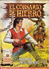 EL CORSARIO DE HIERRO (ed. histórica) nº: 14 (de 58 d colección completa. ed. B)