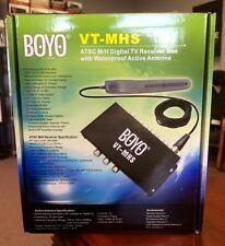 BOYO Vision VTMHS ATSC Mill Digital TV Tuner Box w/ Waterproof Active Antenna