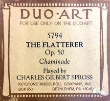 DUO-ART ReCut Chaminade THE FLATTERER Op. 50 C. G. Spross 5794 Player Piano Roll