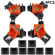 4Pcs/Set DIY 90° Right Angle Clip Clamps Corner Holder Woodworking Hand Tool Kit