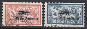 France.1927 First Display of Aviation and Navigation Marseilles set of 2v. Used