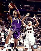 Chamique Holdsclaw Signed Autographed 8X10 Photo Sparks Road vs Storm JSA V54027