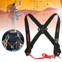 Chest Strap Shoulder Harness Belt for Rock Climbing Rappelling Equipment